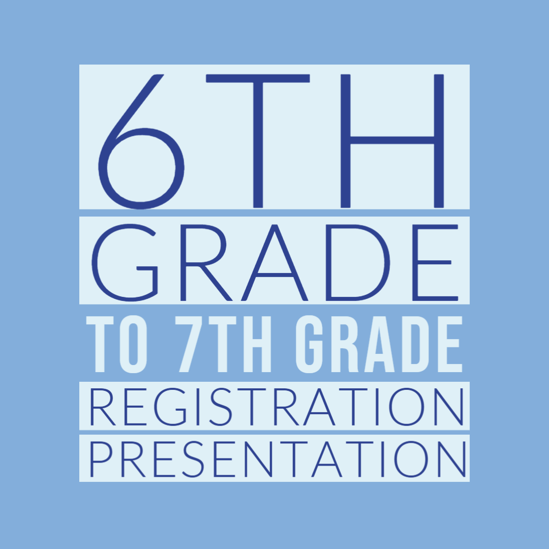 6th to 7th Registration pres