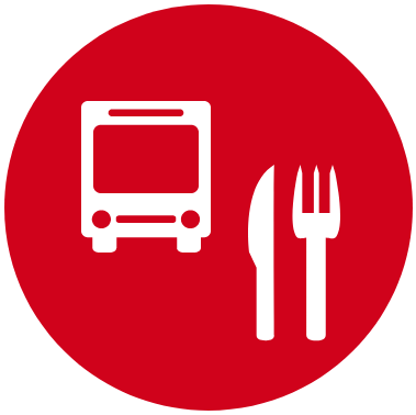 bus meals icon