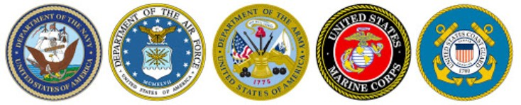 Photo of military seals