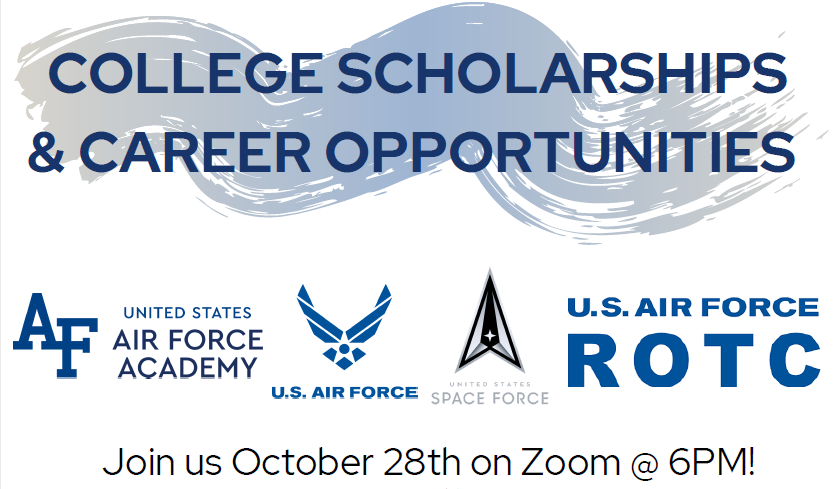 Career Scholarship and Opportunities flyer