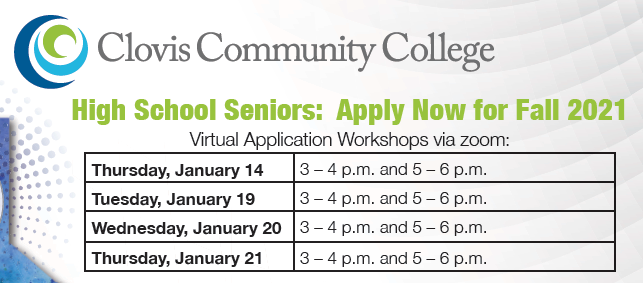 Clovis Community College Workshops
