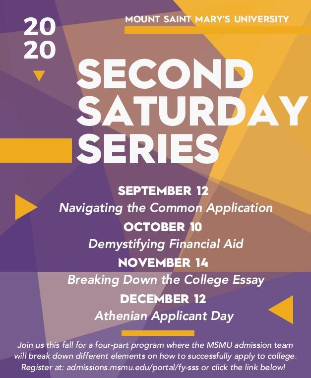 MSMU Second Saturday Series